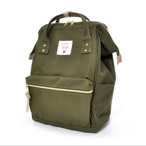 [GIFT: FREE TOTE] Anello Japan Leaf Green backpack